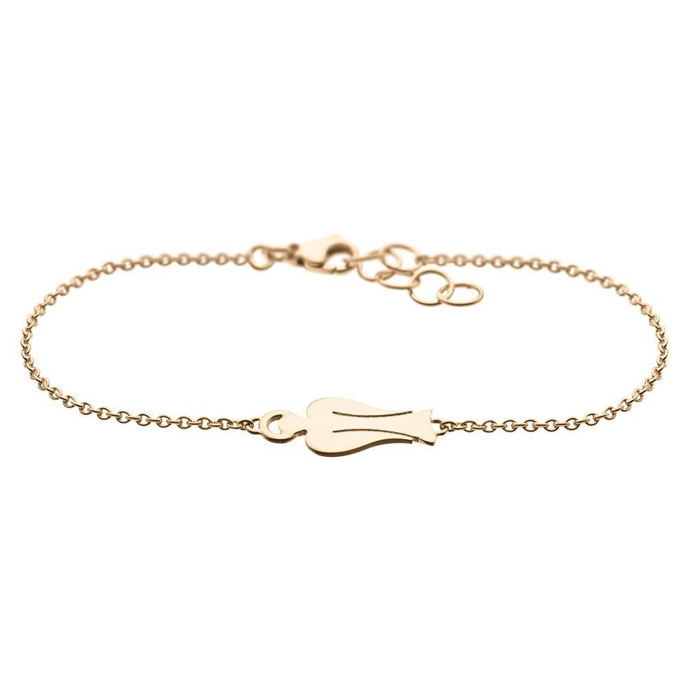 MyAngel Schutzengel-Armband zart in Gelbgold